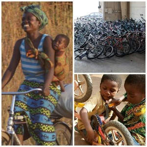Used Bikes Bring Mobility To Families In Africa