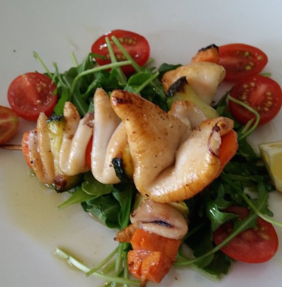 Calamari Spiedini