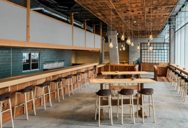 The stylish dining room at recent Mid-Market arrival The Perennial
