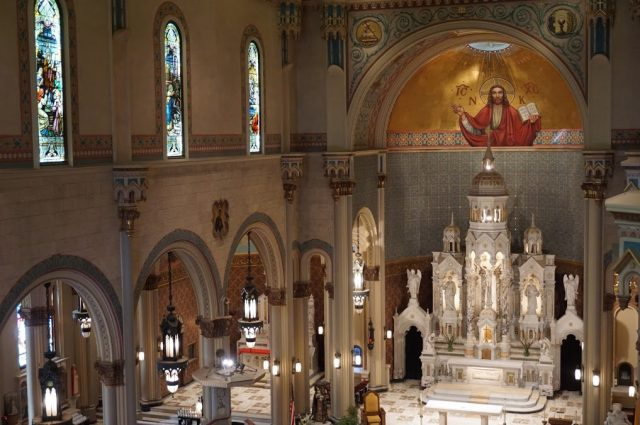 The Interior Of The Spectacular Saints Peter And Paul Church