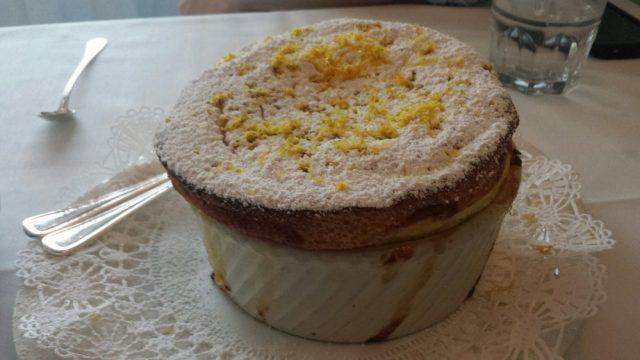 Lemon Soufflé at Cafe Jacqueline - North Beach Restaurants