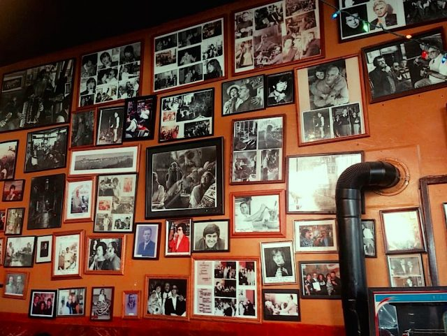 The west wall at Caffe Trieste - Joe Content: What to do in San Francisco
