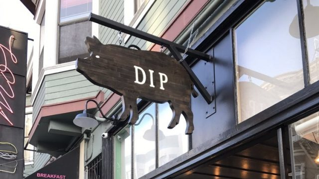 Dip on Grant Avenue - Joe Content