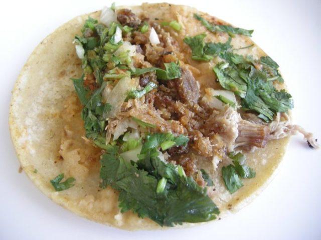 The Awe-Inspiring Chicharrones Taco at La Palma Mexicatessen - Joe Content - Table of Content
