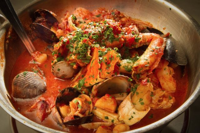 Sotto Mare's Famous Cioppino As It Is Served Today