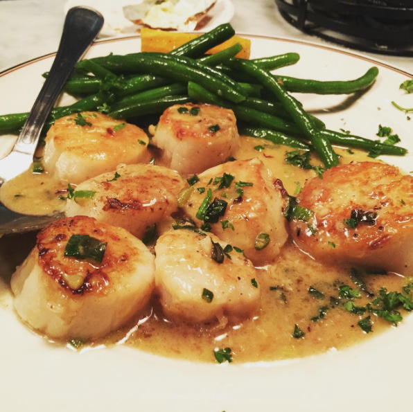 Sotto Mare's Incomparable Scallop Sauté