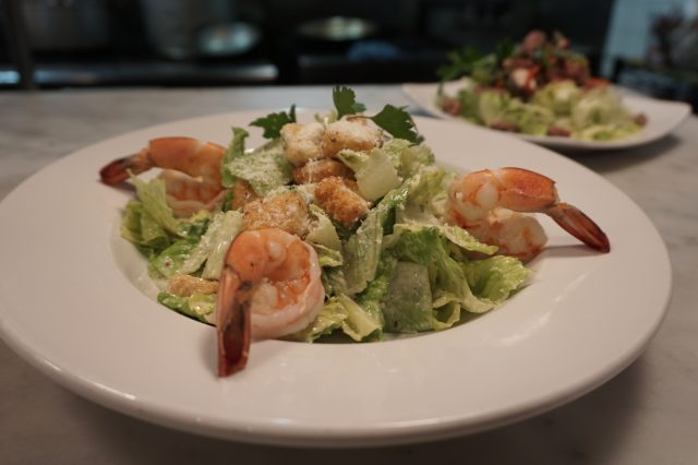 Caesar Salad With Prawns, Sotto Mare Menu - Joe Content