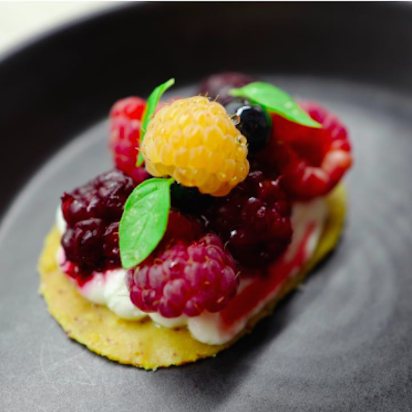 End of Summer berries at Californios in San Francisco - joecontent.net