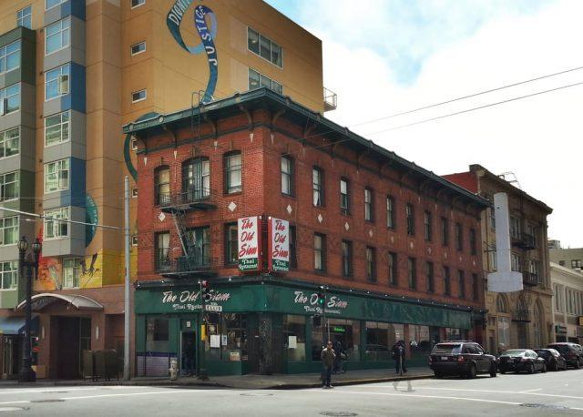 225 Ellis Street, Location of Jessie Hayman's Original Brothel, As It Appears Today