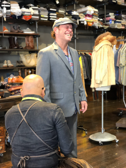 Getting fitted at Al's Attire - The Suit / joecontent.net