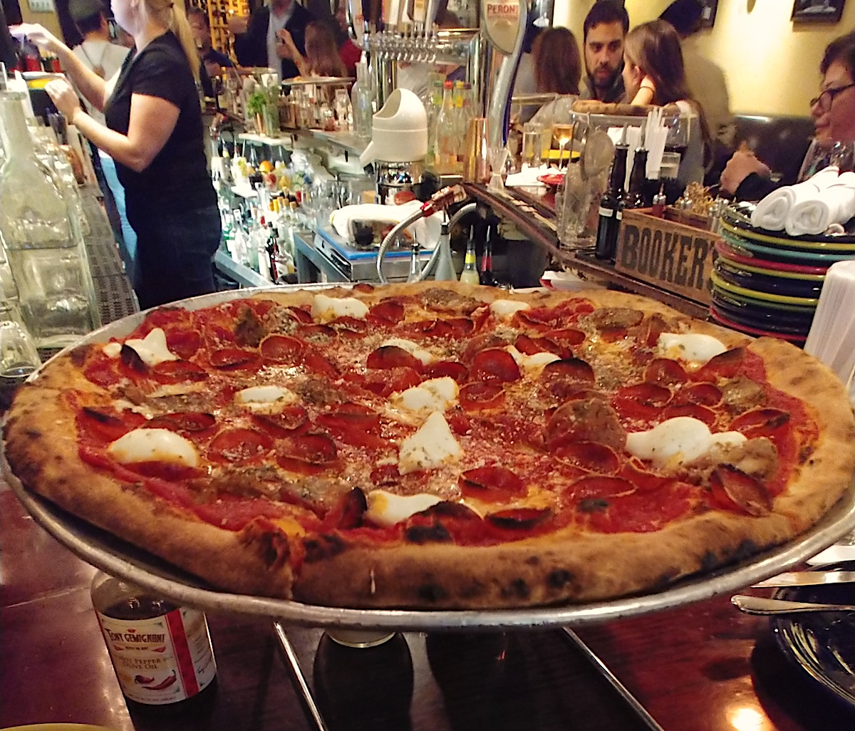 Coal Fired Pizza at Tony's Pizza Napoletana in SF. joecontent.net
