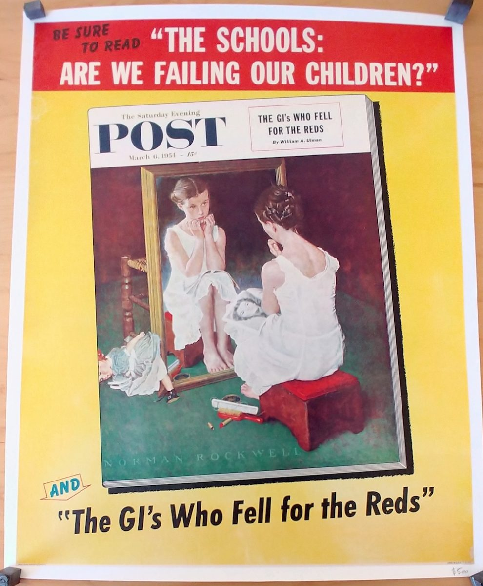 Rockwell, Saturday Evening Post, Real Old Paper Gallery