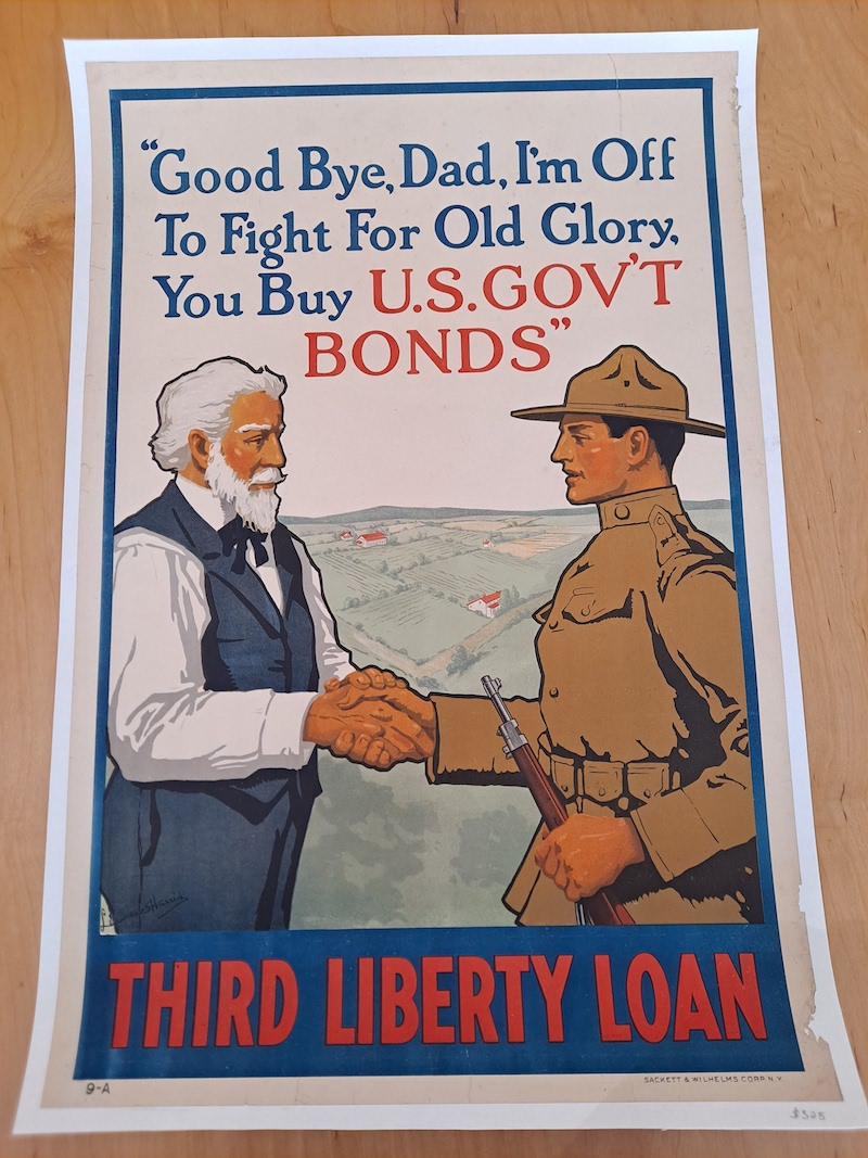 WW1 posters at Real old Paper Gallery