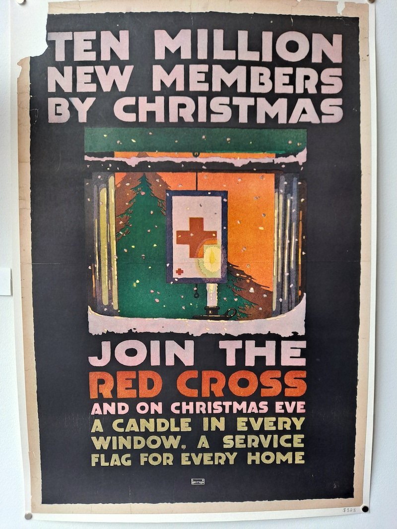 vintage WW1 posters at Real Old Paper