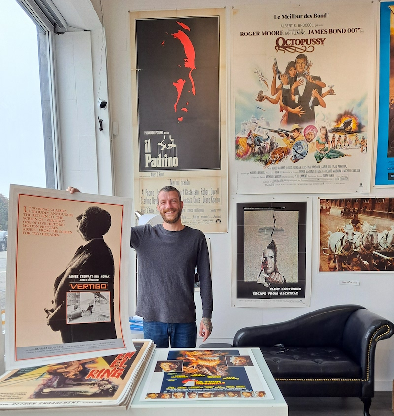 movie posters at real old paper gallery